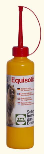 Stassek Equisolid Spezial-Lotion für Hufstrahl und Sohle